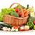 izolált · fonott · kosár · zöldségek · étel · fehér - stock fotó © monticelllo