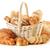 pan · aislado · blanco · alimentos · naturaleza - foto stock © monticelllo