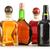 üvegek · termékek · izolált · fehér · bor · üveg - stock fotó © monticelllo