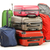 Luggage consisting of large suitcases rucksack and travel bag stock photo © monticelllo