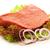parça · sığır · eti · et · marul · gıda · pişirme - stok fotoğraf © monticelllo