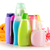 Plastic bottles of body care and beauty products stock photo © monticelllo