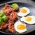 tyúk · tojások · felső · kilátás · tálak · dekoratív - stock fotó © moradoheath