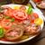 taze · sağlıklı · salata · domates · mozzarella · ahşap · masa - stok fotoğraf © moradoheath