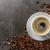koffiebonen · donkere · ondergrondse · drinken · ontbijt · beker - stockfoto © Moradoheath