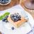 gebak · bosbessen · vers · mint · dessert · macro - stockfoto © Moradoheath