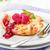 gebak · frambozen · vers · mint · dessert · eten - stockfoto © moradoheath