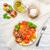 kleurrijk · tomaat · salade · basilicum · groene · Geel - stockfoto © Moradoheath