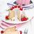 Fresh bundt cake with fruits stock photo © Moradoheath