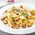 heerlijk · gevuld · champignons · kaas · pesto · lunch - stockfoto © moradoheath