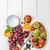 vers · vruchten · salade · bessen · vruchten · restaurant - stockfoto © moradoheath