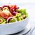 vers · salade · tomaten · olijven · uien · restaurant - stockfoto © Moradoheath