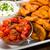 ジャガイモ · 食品 · 指 · ダイエット · マクロ - ストックフォト © moradoheath