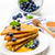 French toast sweet breakfast with blueberries stock photo © Moradoheath