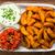 新鮮な · ジャガイモ · サワークリーム · ディップ · 木材 · 唐辛子 - ストックフォト © moradoheath