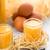 ovo · licor · óculos · fresco · baunilha · ovos - foto stock © Moradoheath