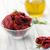 gedroogd · tomaten · olijfolie · achtergrond · groene · plaat - stockfoto © moradoheath