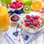 müsli · vers · fruit · ontbijt · tabel · vruchten · gezondheid - stockfoto © Moradoheath