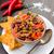 chile · frescos · tortilla · chips · rojo · maíz - foto stock © Moradoheath