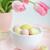 páscoa · decoração · pintado · ovos · belo · rosa - foto stock © Moravska