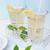 vidro · fresco · frio · limonada · limão · fatias - foto stock © Moravska