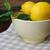 fresco · limão · tigela · mesa · de · madeira - foto stock © Moravska
