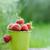 frissen · eprek · zöld · eper · organikus · tart - stock fotó © moravska