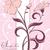 pink floral invitation card stock photo © morphart