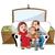 affaires · homme · travailleur · cartoon · profile - photo stock © morphart