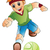 boy playing soccer illustration stock photo © morphart