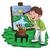 художник · Живопись · холст · рисунок · вектора - Сток-фото © morphart