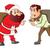 図面 · 話し · サンタクロース · 漫画 · スタイル · 雪 - ストックフォト © morphart