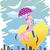 paar · paraplu · witte · tuin · regen · voet - stockfoto © morphart