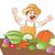 огурца · белый · реалистичный · изолированный · иллюстрация · кухне - Сток-фото © morphart