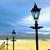 灯台 · 半島 · アイルランド · 道路 · 建物 - ストックフォト © morrbyte