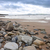 plage · cailloux · mer · espace - photo stock © morrbyte