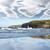 penhasco · cara · céu · paisagem · oceano · verde - foto stock © morrbyte