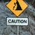 figyelmeztető · jel · lehetséges · ősz · hegy · szirt · biztonság - stock fotó © morrbyte