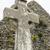 old celtic cross head stone stock photo © morrbyte