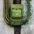 edad · verde · Rusty · metal · cambiar · pared - foto stock © motttive