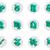 набор · изолированный · 3D · зодиак · иконки · веб - Сток-фото © motttive
