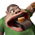 vet · hongerig · man · eten · 3d · illustration - stockfoto © motttive