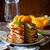 perziken · witte · twee · oranje · Rood · geïsoleerd - stockfoto © mpessaris