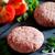 牛肉 · ハンバーガー · まな板 · 肉 · 地上 · ニンニク - ストックフォト © mpessaris