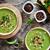 groene · erwten · soep · donkere · houten · laag - stockfoto © mpessaris