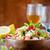 ボウル · 新鮮な · 緑 · サラダ · 行 · ケータリング - ストックフォト © mpessaris