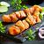 marinated chicken skewers stock photo © mpessaris