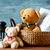 dzieciństwo · nostalgia · miś · starych · vintage · skóry - zdjęcia stock © mpessaris