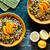 plates of bulgur and vegetables salad stock photo © mpessaris