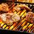 barbecue · tyúk · zárt · vacsora - stock fotó © mpessaris